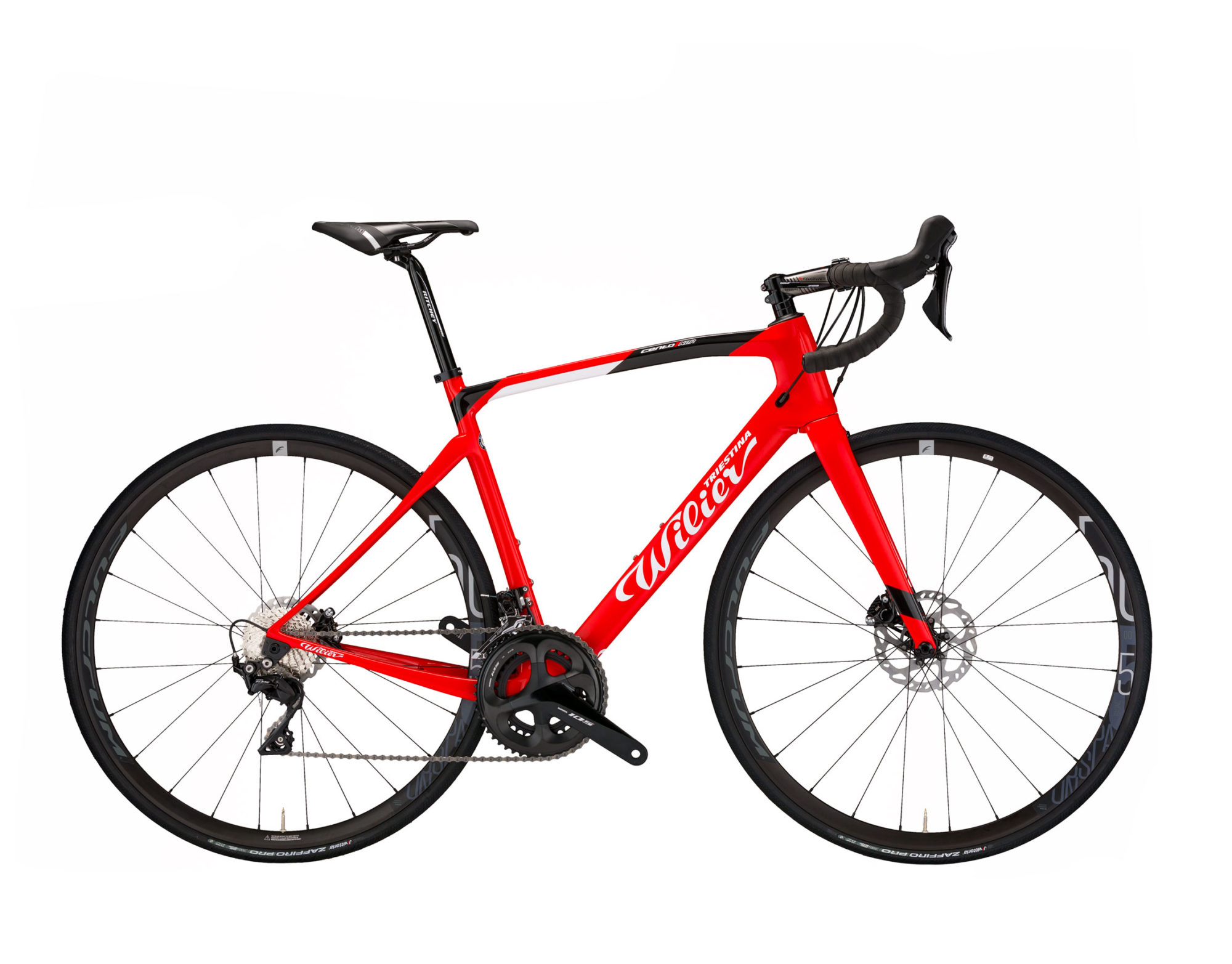 vélo wilier rouge